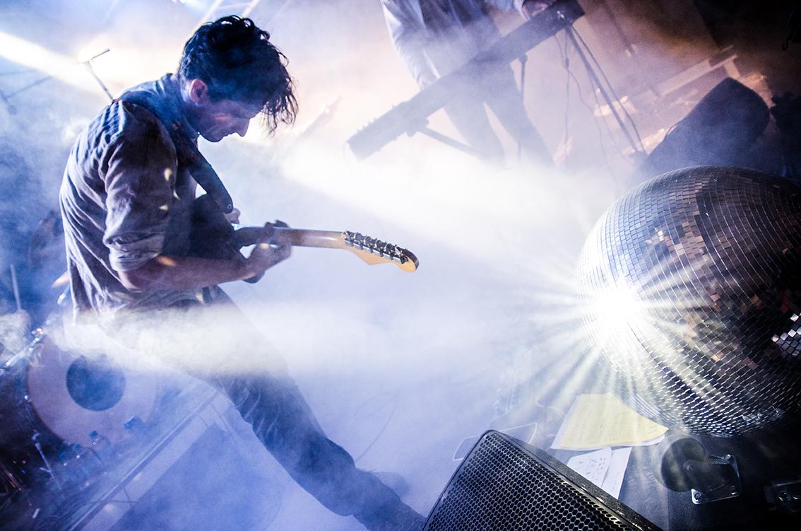 Das ist nicht Silvio Zeder, aber von ihm fotografiert: die Band Skeletons am diesjährigen B-Sides-Festival.