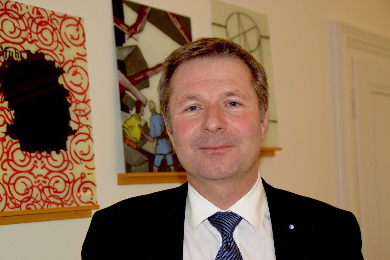 Finanzdirektor Marcel Schwerzmann posiert für ein Foto.