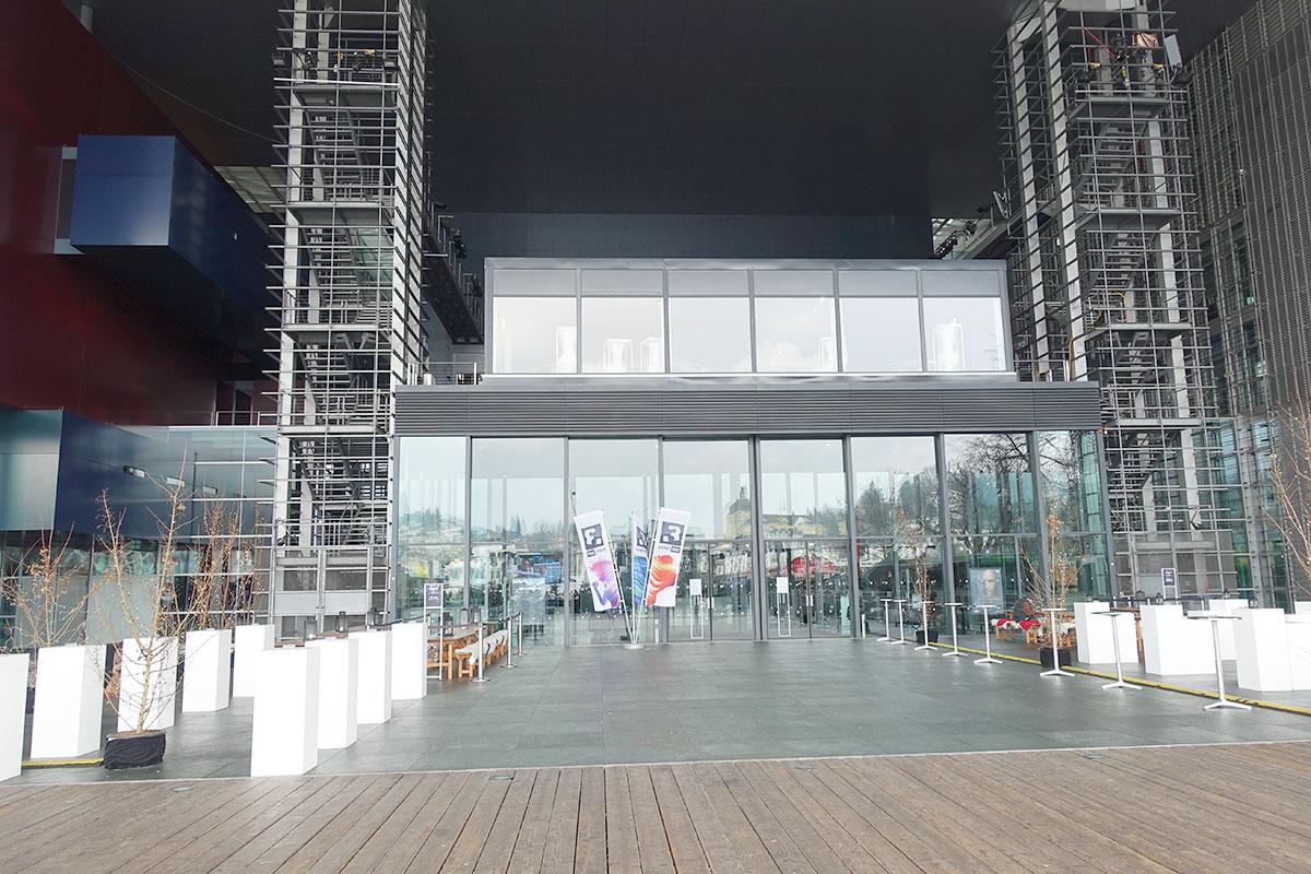 Eine Neuerung, die es unter Hans E. Koch gab: Den Pavillon auf der KKL-Terrasse kann man für Anlässe mieten.