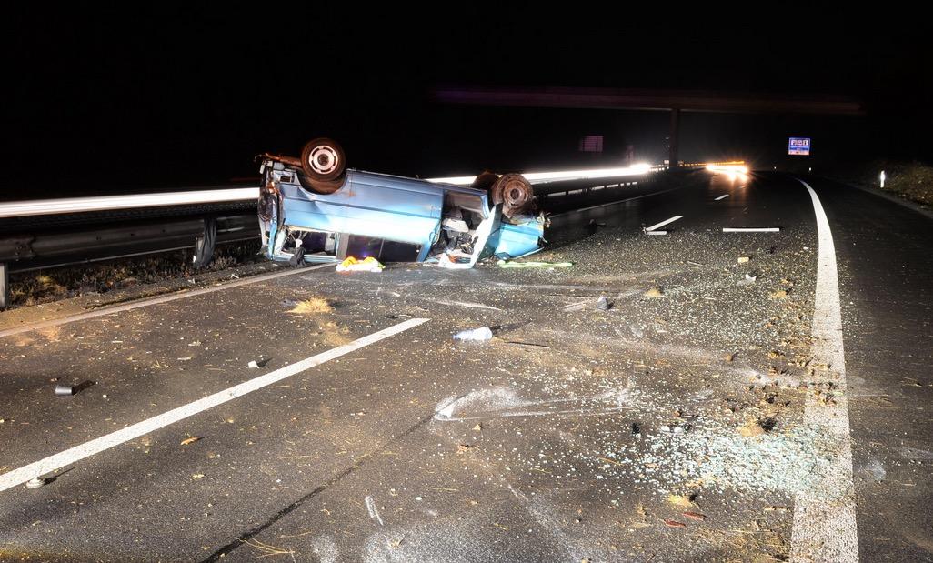 Beim Unfall entstand ein Sachschaden von 25'000 Franken.