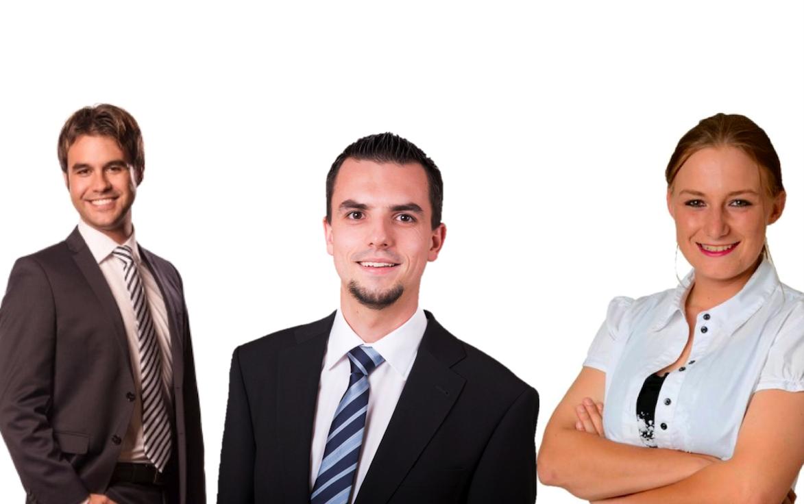 Von links nach rechts: Denis Kläfiger, Vorstandsmitglied Jugendparlament Kanton Luzern, Christian Huber, Präsident JSVP Kanton Luzern, Lea Fuchs, Co-Präsidentin Jugendparlament des Kantons Luzern.