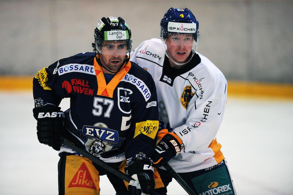 «Jetzt geht es darum, an den kleinen Dingen zu arbeiten», sagt Captain Fabian Schnyder. (links)
