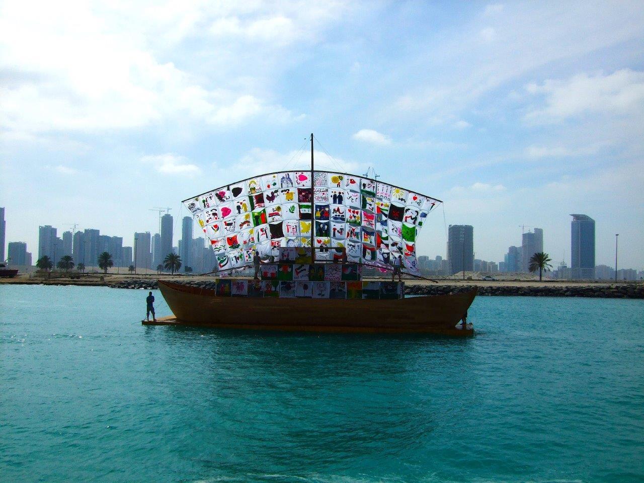 So sah das Ship of Tolerance in Ägypten aus.