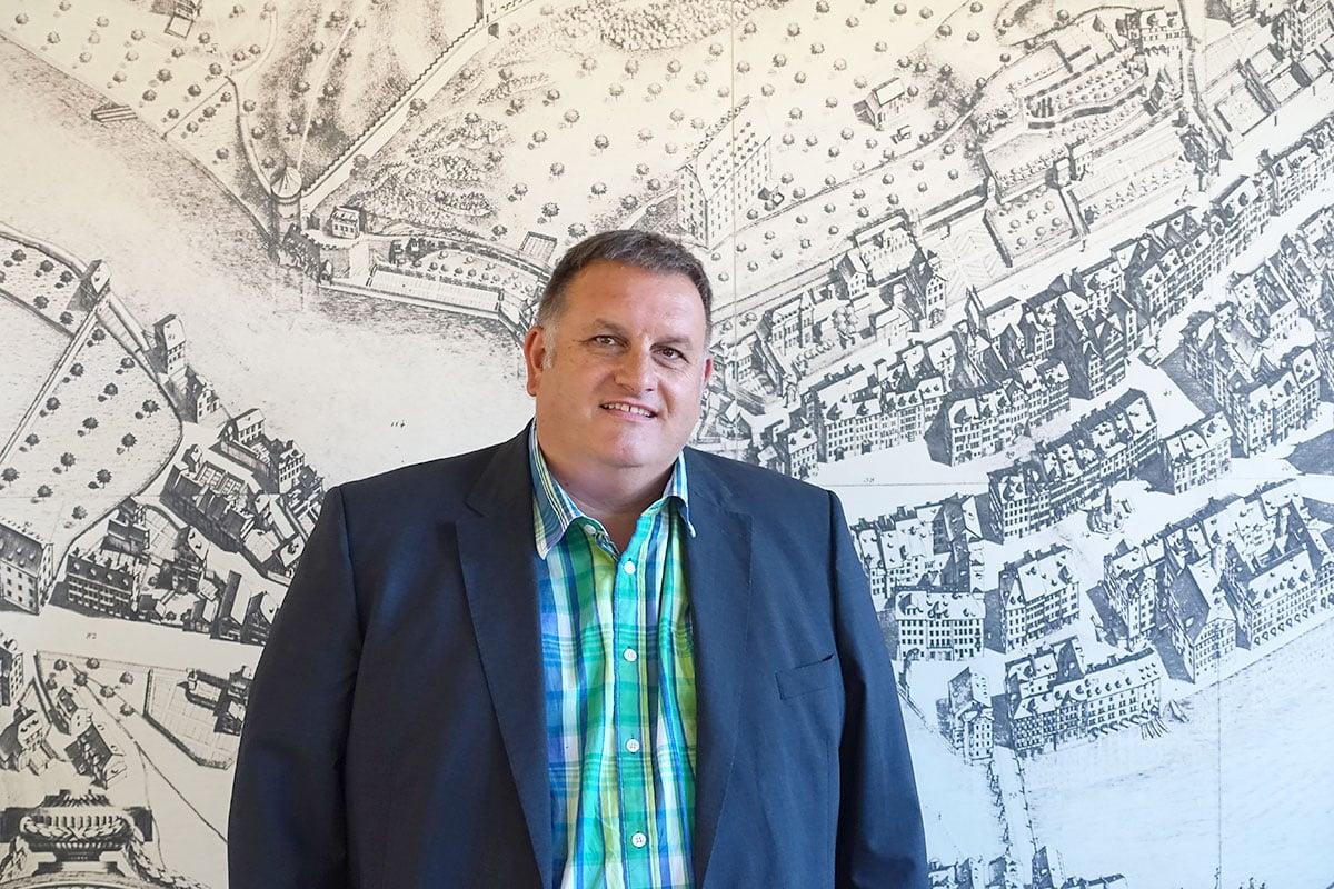 Kennt alle Zahlen: Stefan Liembd, Leiter der Sozialen Dienste der Stadt Luzern. (Bild: jwy)