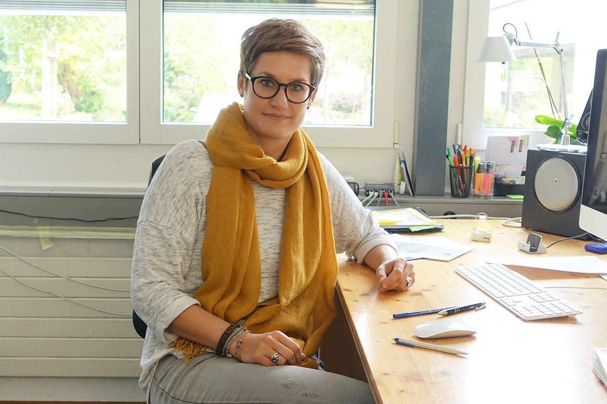 Corinne Imbach führt neben ihrem Amt für das Luzerner Fest einen Ein-Frau-Betrieb und nennt sich Ideen-Kuratorin. (Bild: jwy)