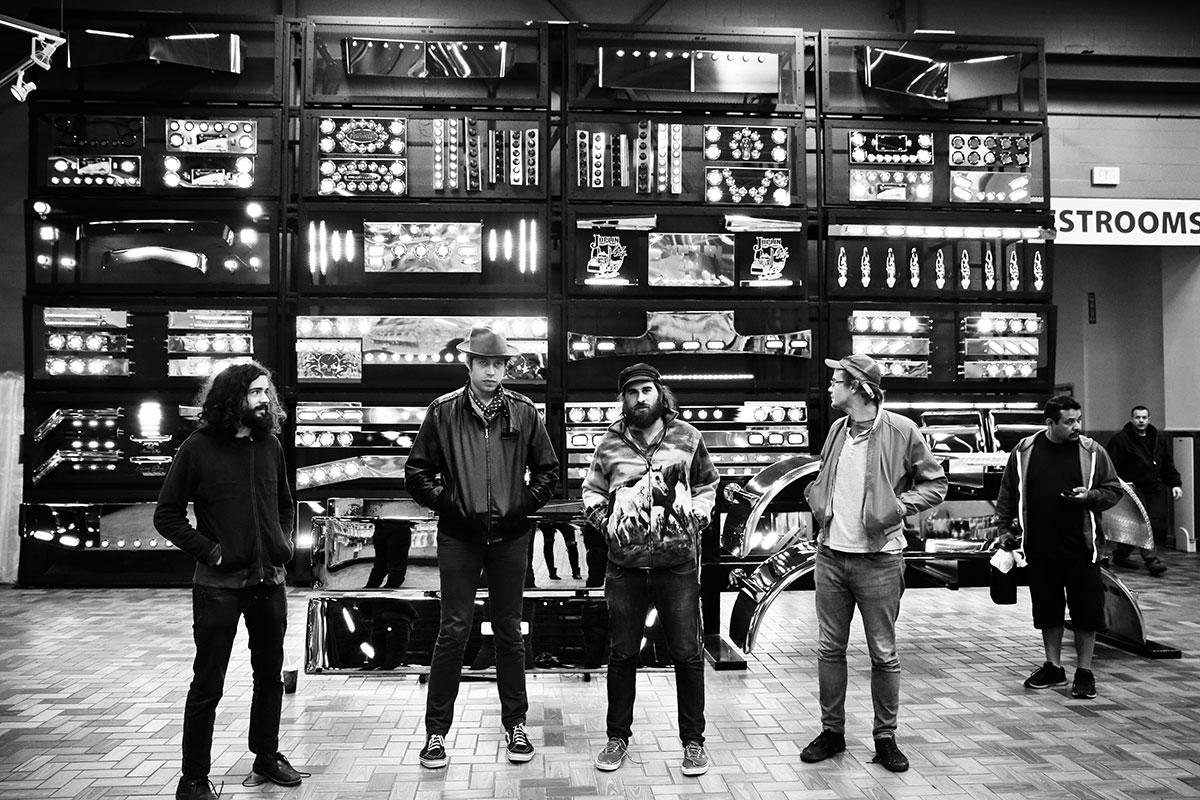 Die US-Band Clear Plastic Masks auf Tour – festgehalten von einer Luzerner Fotografin.