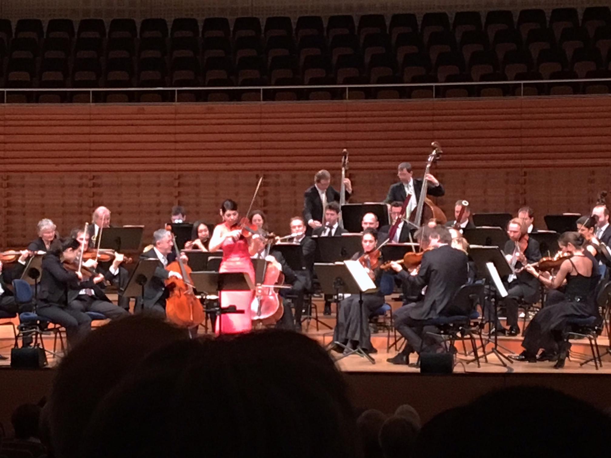 Das Orchester Camerata Salzburg im KKL Luzern.