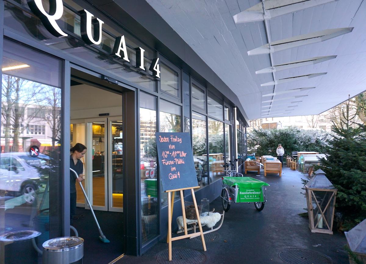 Mit der Laufkundschaft ist's schwierig: Der Quai4-Markt am Alpenquai setzt darum auf Spezialisierung.