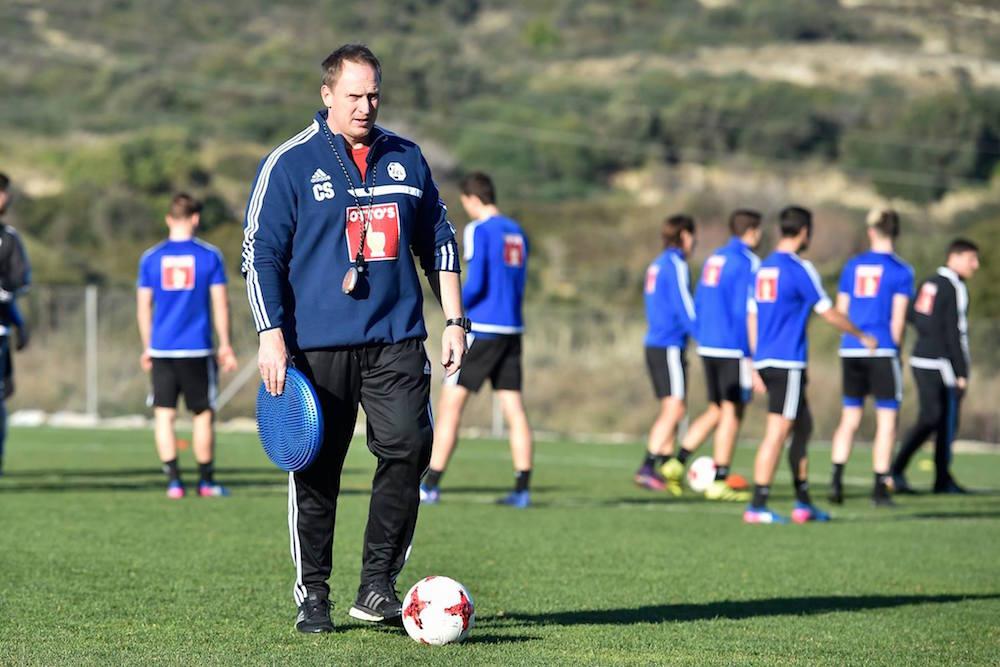 Christian Schmidt befindet sich derzeit mit dem FCL im Trainingslager in Estepona.