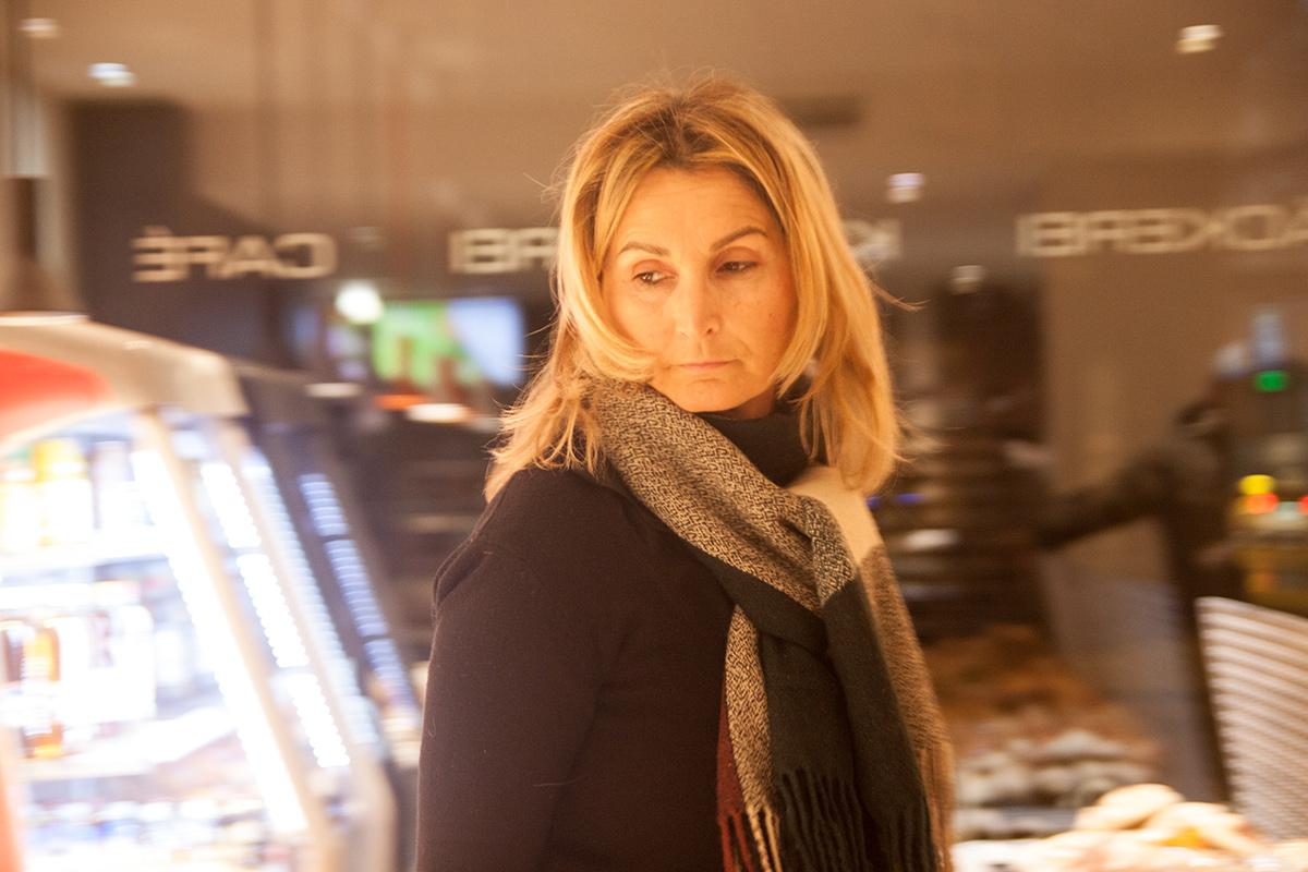 Mila ist seit 15 Jahren beinahe jeden Samstag und Sonntag nachts für den Verkauf in Suter's Meile verantwortlich.