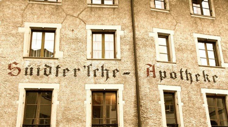 Seit 1833 fester Bestandteil der Luzerner Kleinstadt: die Alte Suidtersche Apotheke.