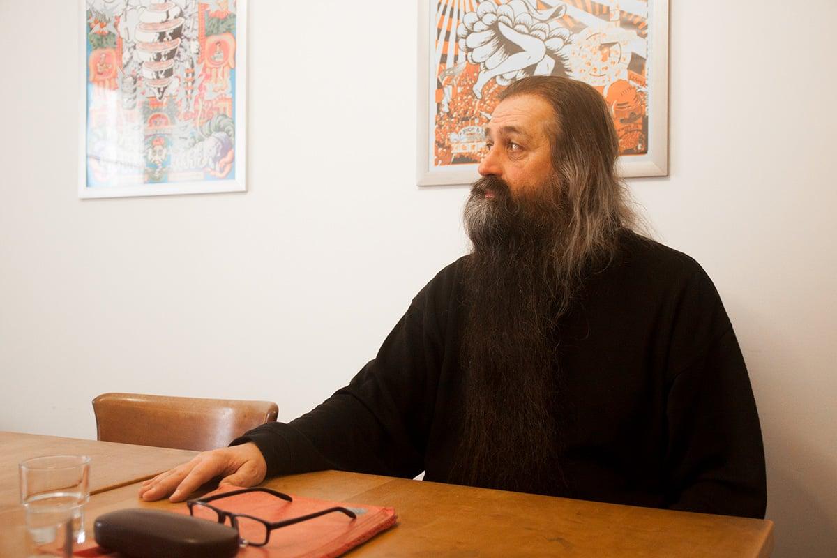 Urs Häner, langjähriger Co-Präsident des Sentitreff, im Interview mit zentralplus.