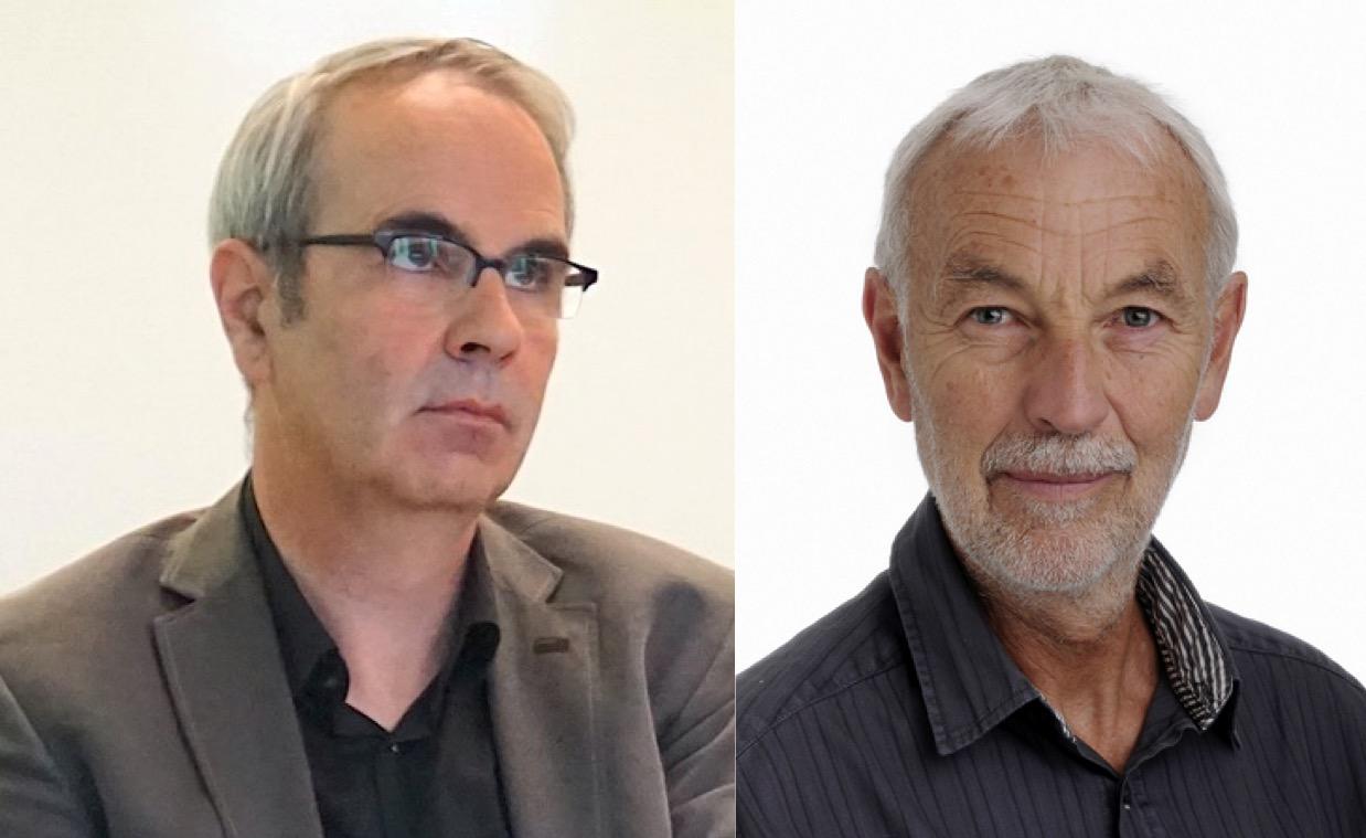 Gleicher Meinung: Stadtpräsident Beat Züsli (links) und Experte Paul Bürkler.
