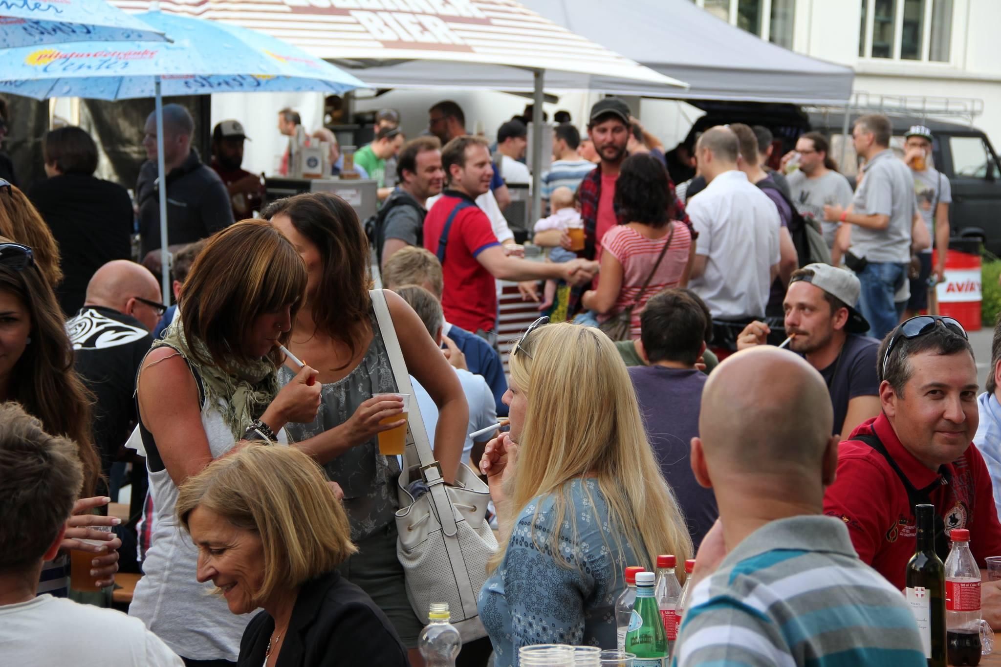 Dass Bierfeste im Volk beliebt sind, hat die Jubiläumsfeier des Luzerner Biers gezeigt.