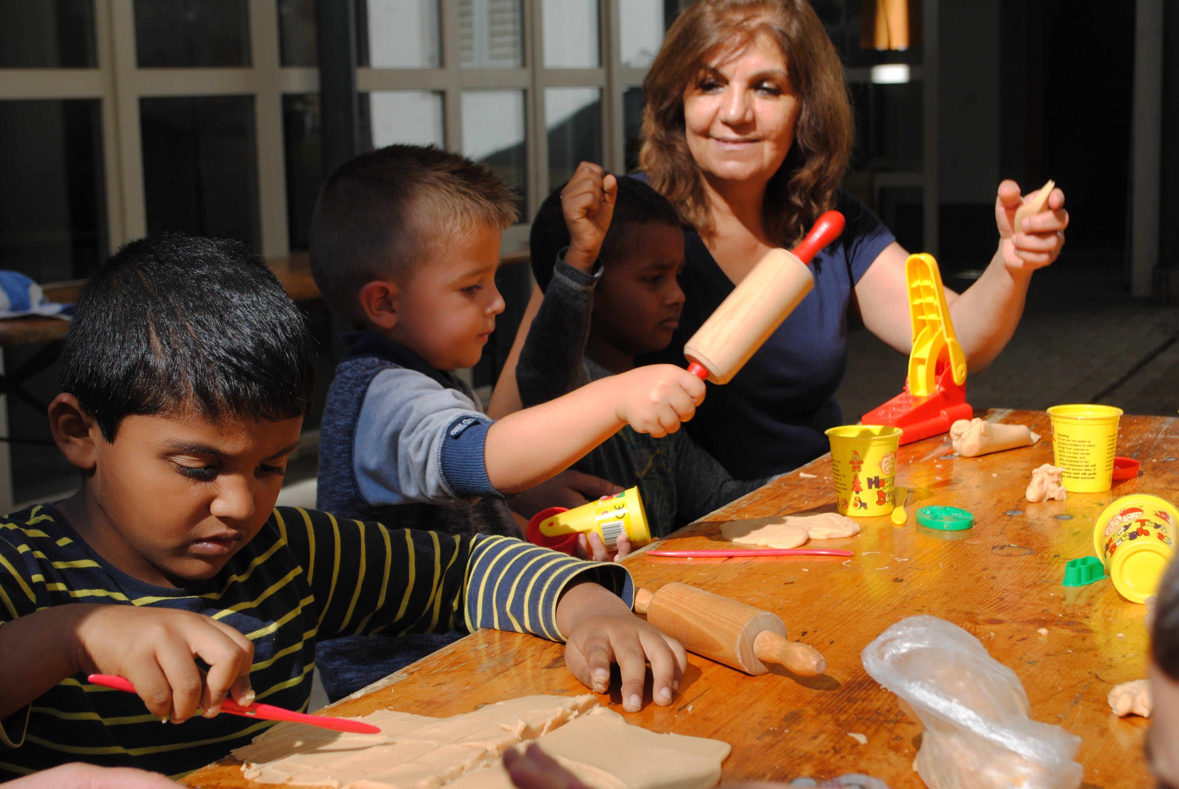 Der Kindernachmittag im Sentitreff findet jeden Mittwochnachmittag statt.
