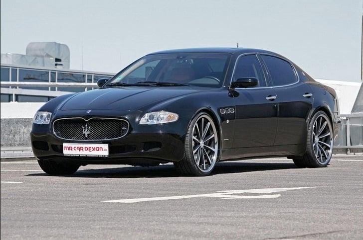 Einen solchen Maserati Quattroporte 4.2 im Wert von rund 70'000 Franken fuhr der «grosse Zampano» Gerd N.