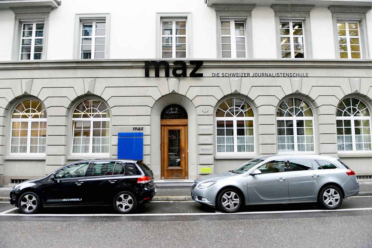 Das MAZ in Luzern.