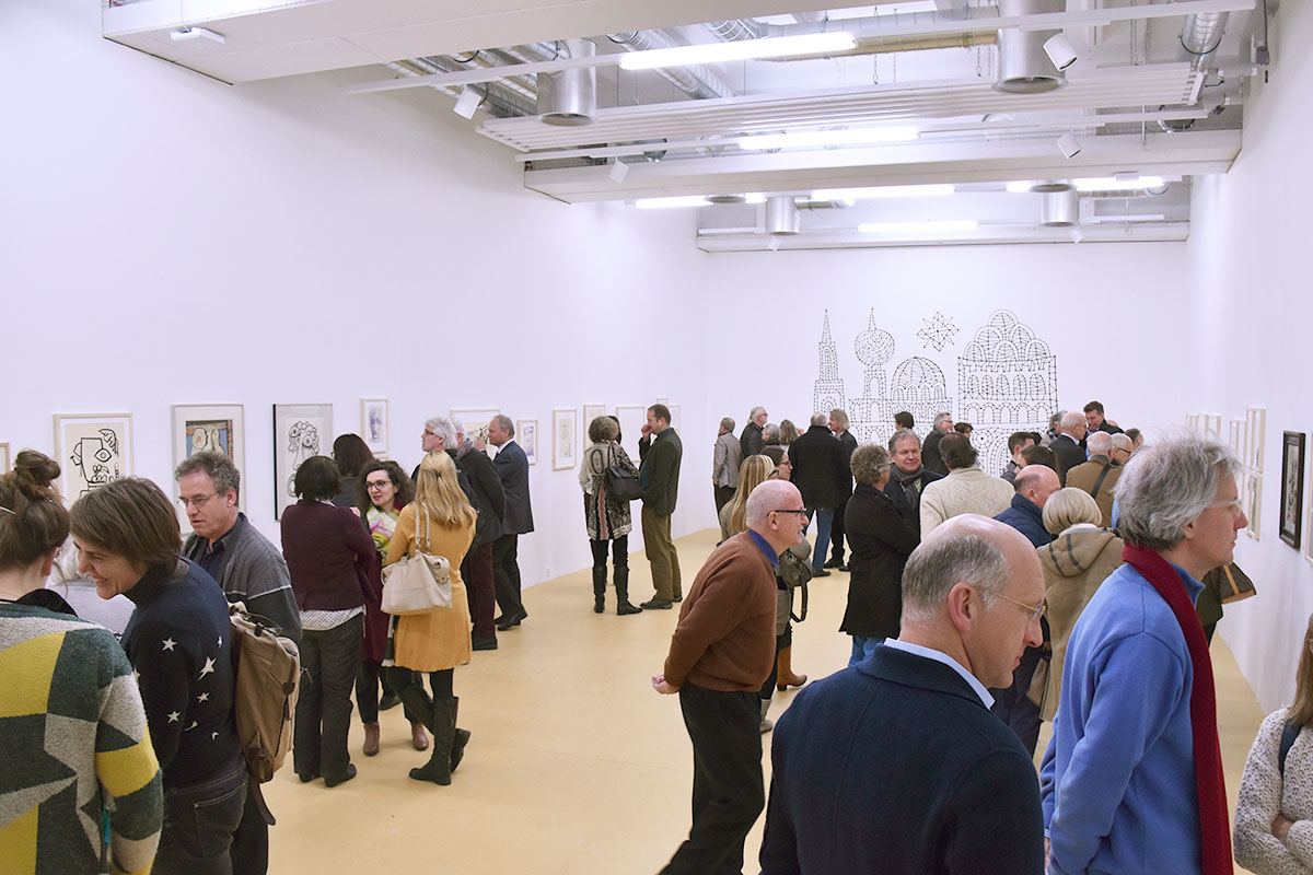Die Vernissage der Max-von-Moos-Ausstellung – sie bildet den Auftakt zum Jubiläumsjahr.