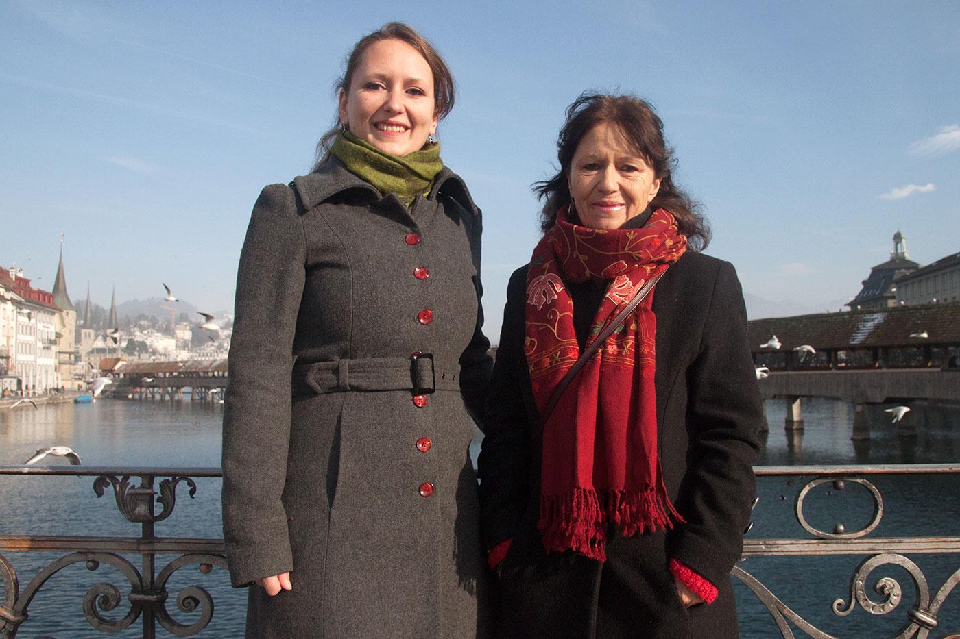 Katharina Meile (links) hat am Montag ihren letzten Tag im Kantonsrat, bei ihrer Mutter Renata ist das schon eine Weile her.