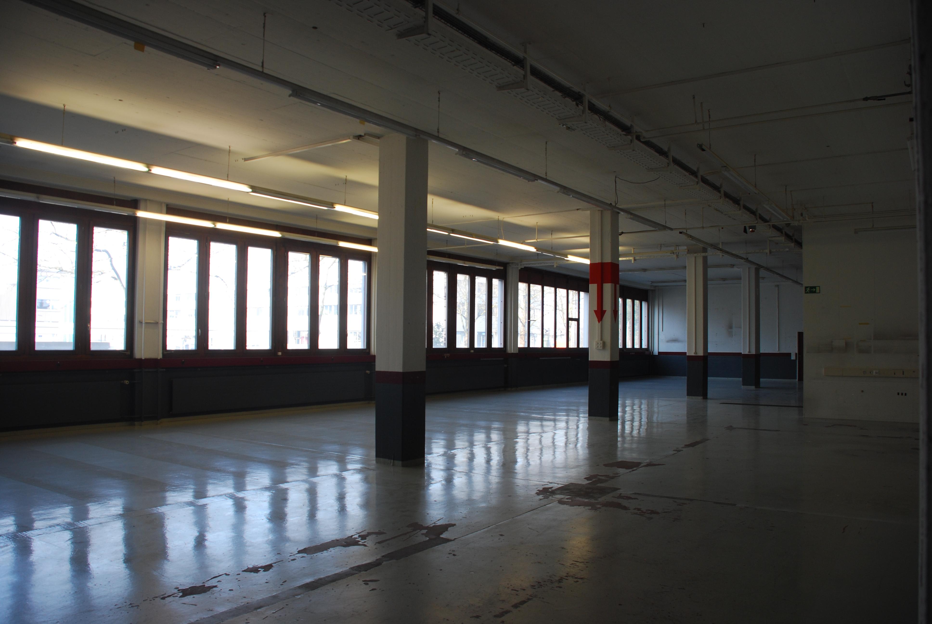 Der grösste Raum im Parterre soll den Zwischennutzern als Ausstellungsfläche zur Verfügung stehen.