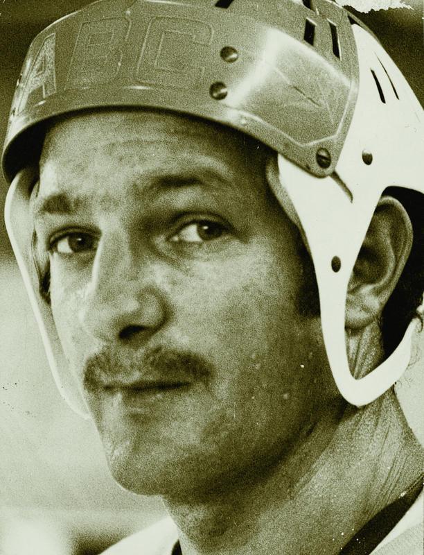 Oskar Huber als junger EVZ-Spieler.