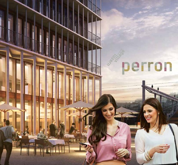 So soll das neue Geschäftsgebäude auf dem Rösslimatt-Areal dereinst aussehen.