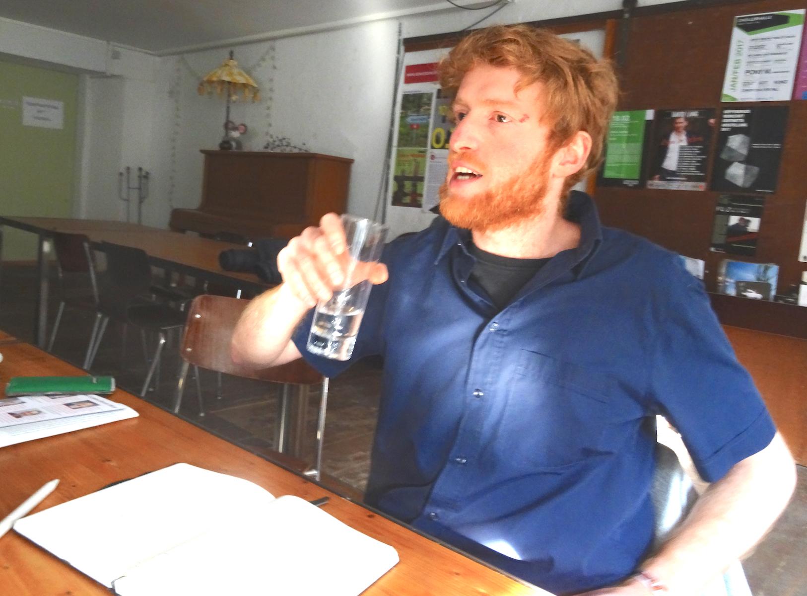 Andreas Lustenberger (30): Geograf, Pfadfinder, Streethockeyspieler – und engagierter Politiker.