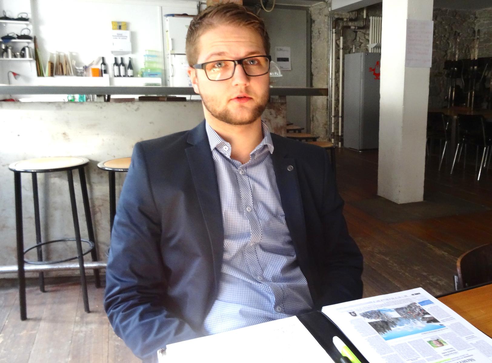 Gregor Bruhin (23), Personalfachmann, Offizier, Vierkampf-Trainer – und engagierter Politiker.