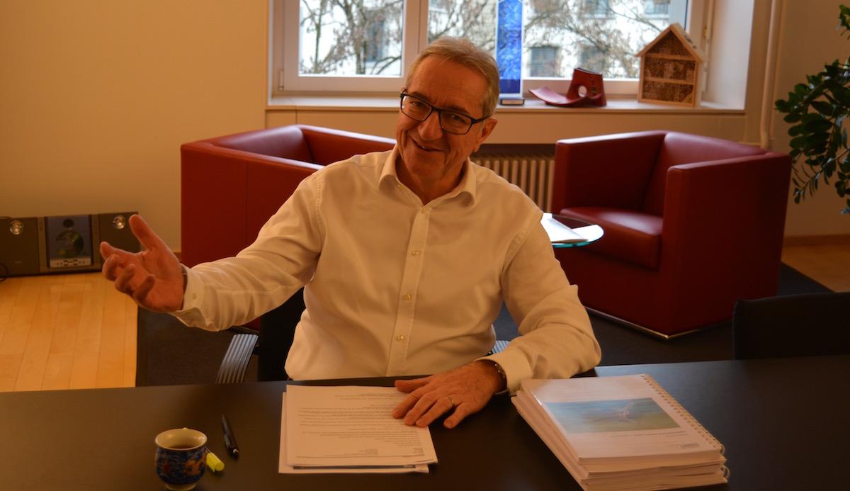 Ist sich der Herausforderungen bewusst: Regierungsrat Robert Küng.