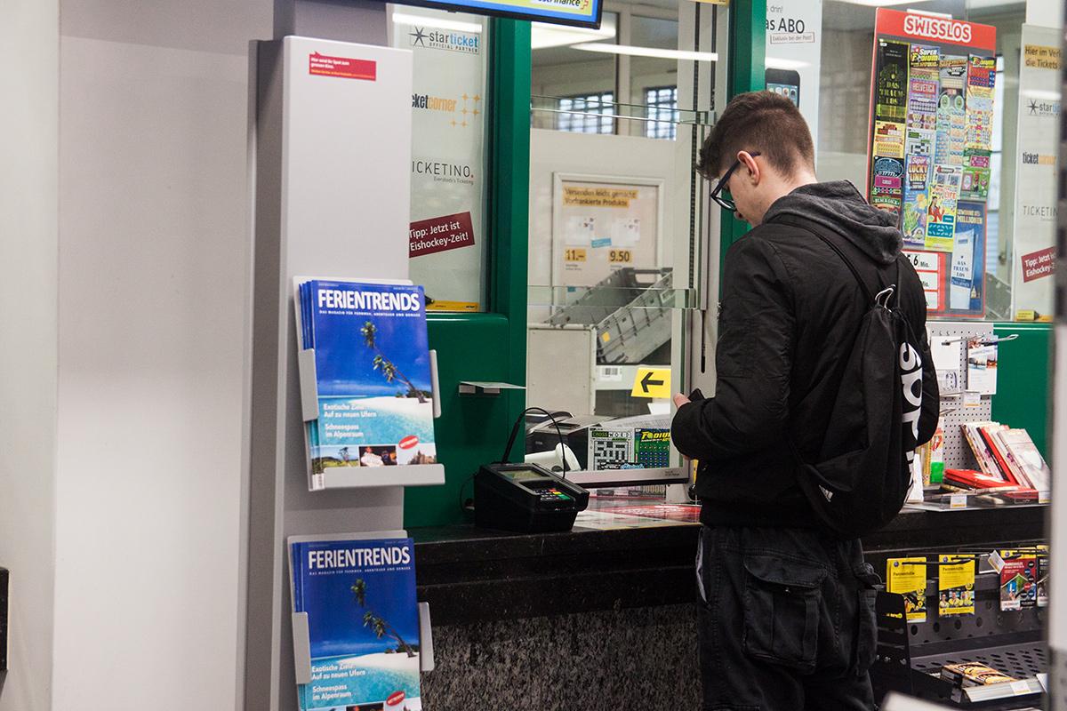 Derzeit ist die Poststelle im Bruchquartier aber noch geöffnet, obwohl immer weniger Kunden Postdienstleistungen am Schalter in Anspruch nehmen.
