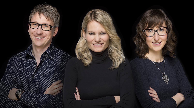 Die neuen Inhaber der Marke «Miss Schweiz»: Iwan Meyer, Angela Fuchs und Andrea Meyer.