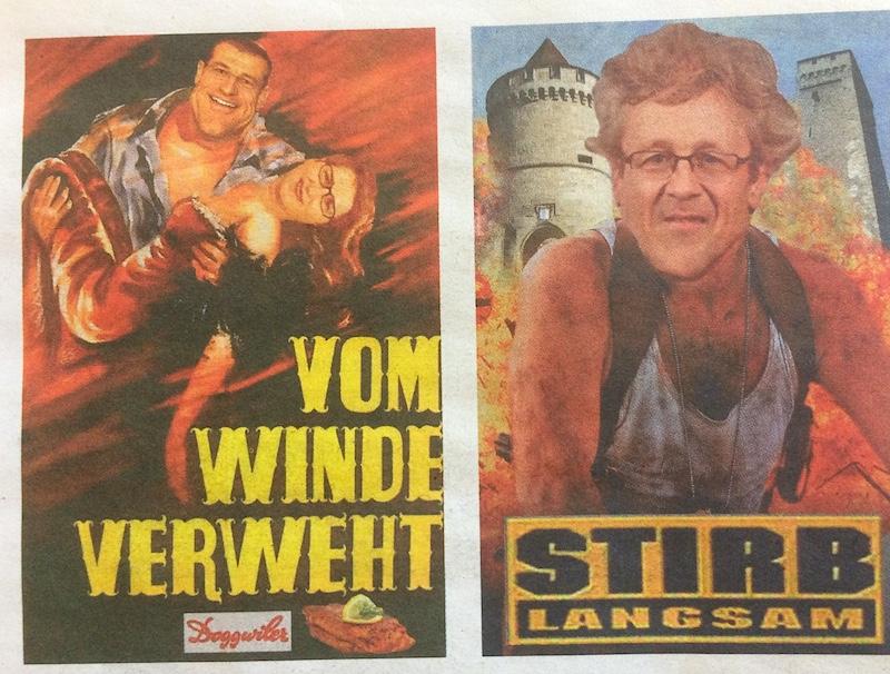 Zwei Filmklassiker-Vorschläge zur Salle Modulable und zum Stadtluzerner Verkehr. (Bild: Knallfrosch)