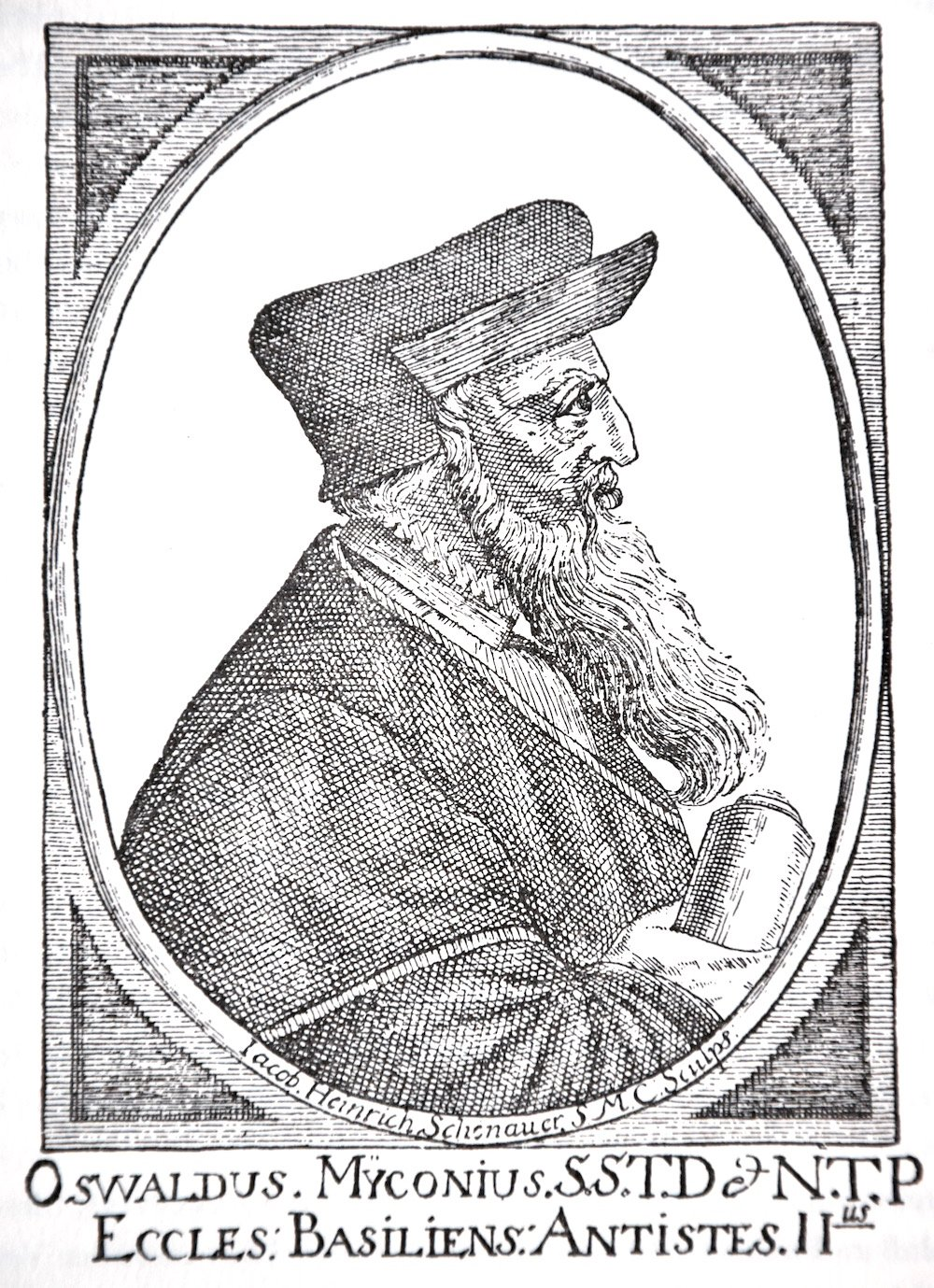Oswald Myconius: Der prominente Luzerner Reformierte.