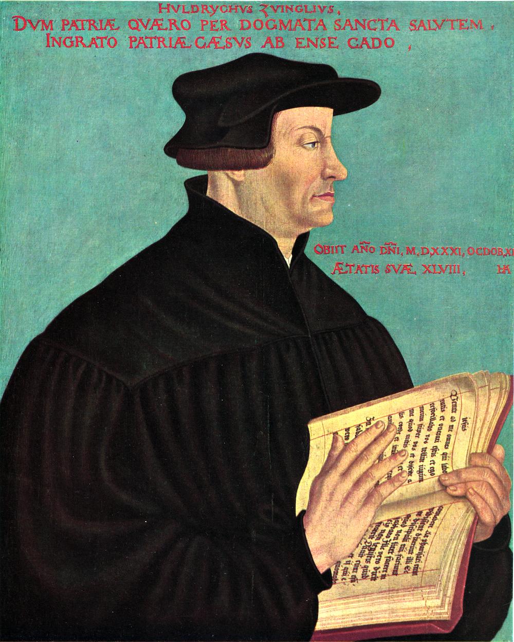 Huldyrich Zwingli: Nicht nur Zürcher Reformatoren, sondern auch Leutpriester in Einsiedeln.
