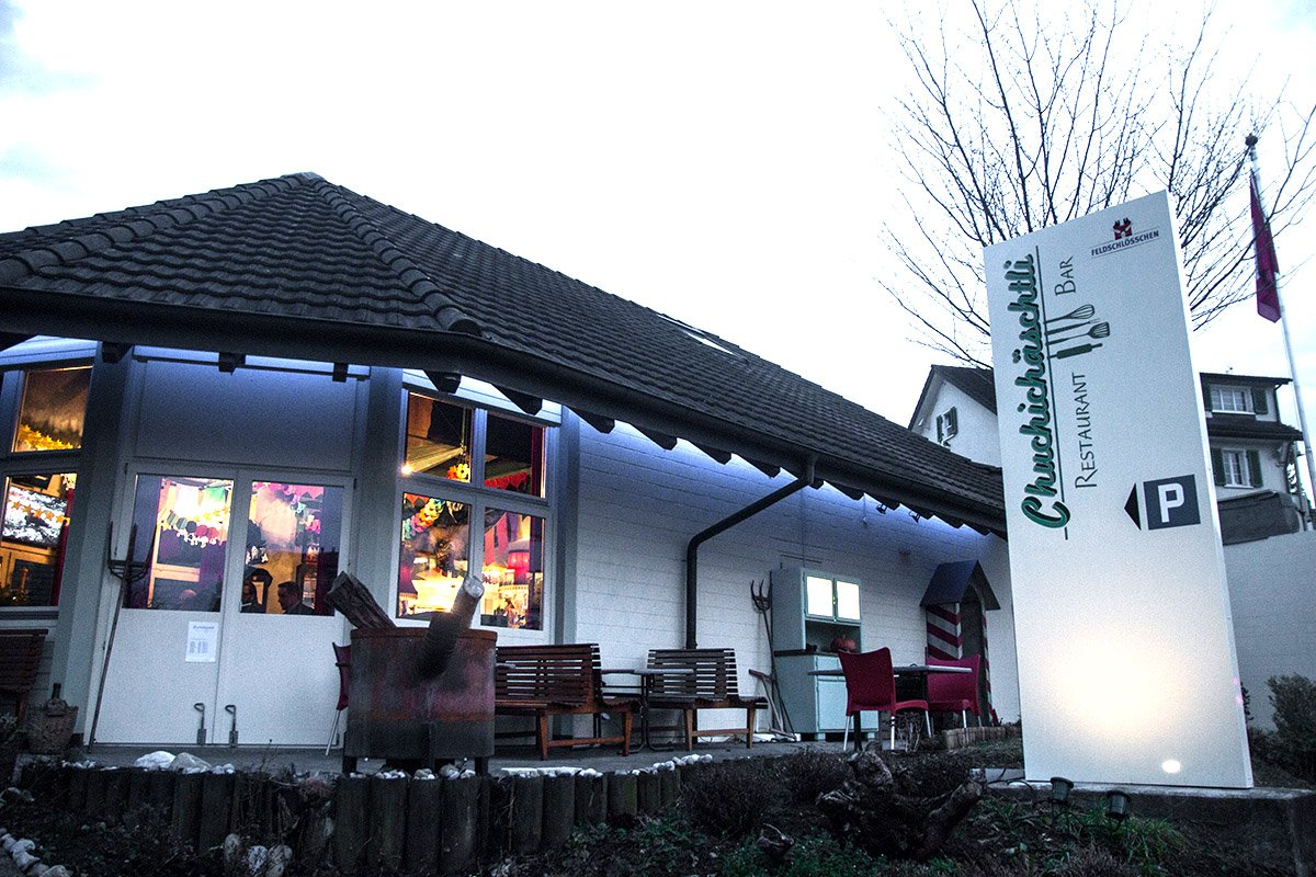 Das neue Restaurant von Charles Wüest an der Ruopigenstrasse in Reussbühl, dort wo früher die Liberty-Bar untergebracht war.