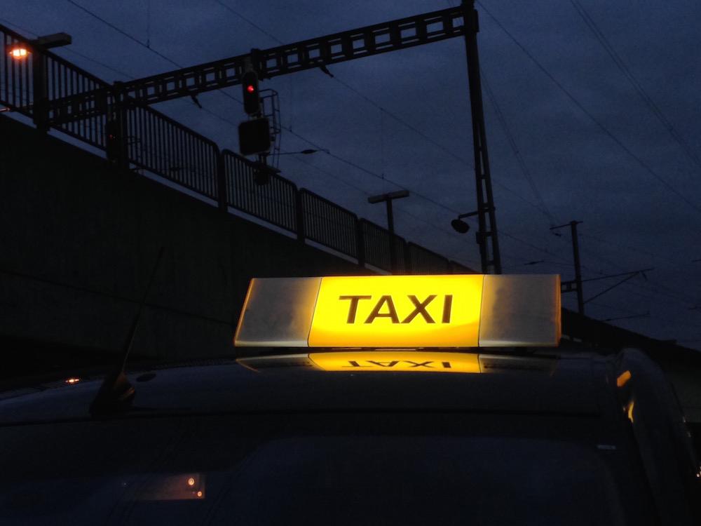 Taxifahren ist grundsätzlich eine sichere Angelegenheit.