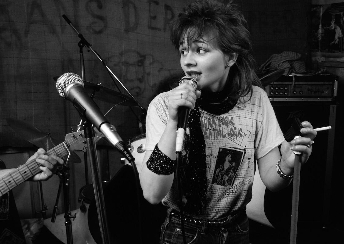 Unzählige Musikerinnen und Bands sind im Sedel gross geworden. So wie Vera Kaa 1983. (Bild: Emanuel Ammon/AURA)