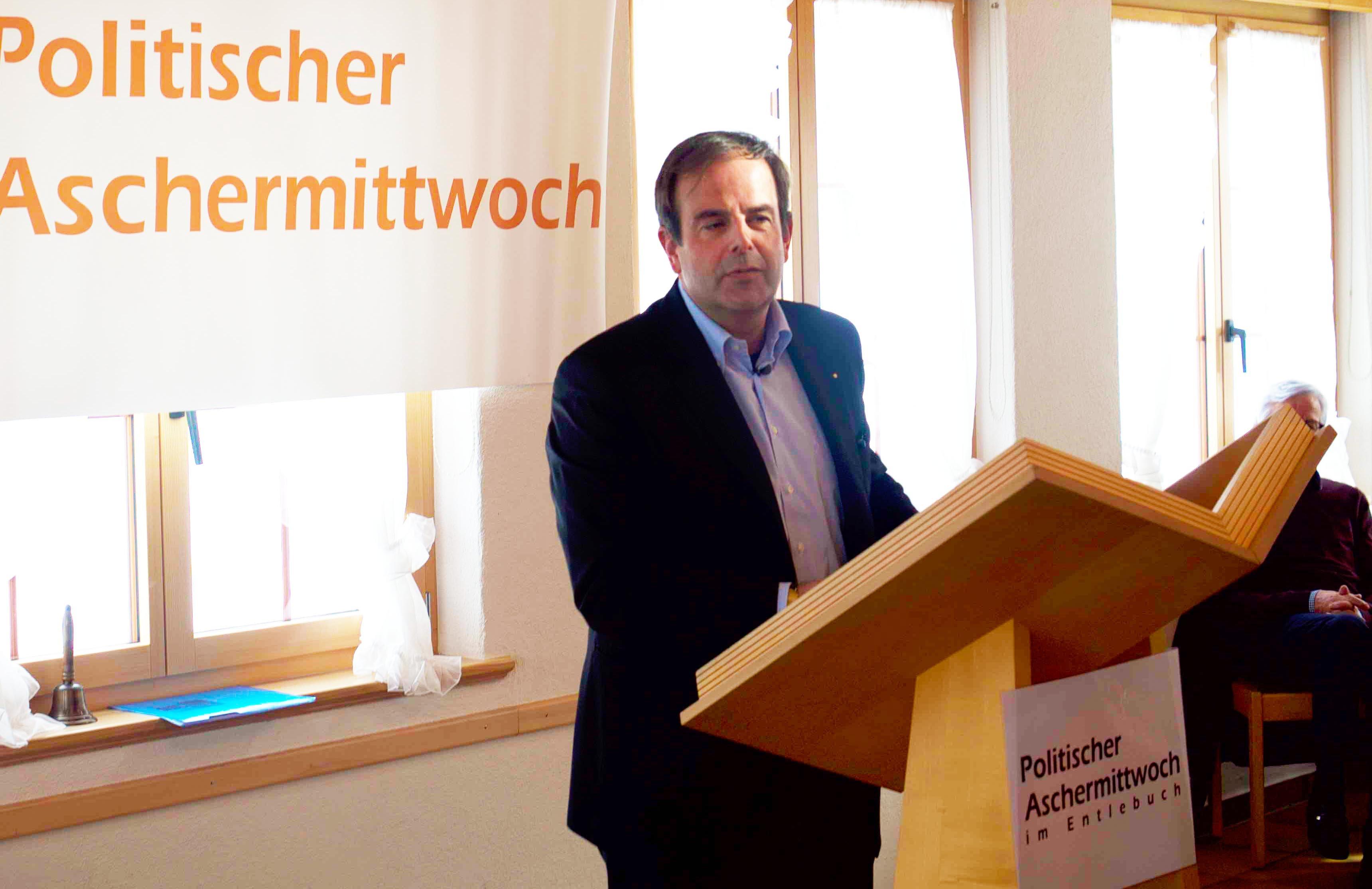 CVP-Präsident Gerhard Pfister: Nach Fremdeinschätzung nicht geeignet, um über Niklaus von Flüe zu sprechen. Und vielleicht gerade deshalb so überzeugend.