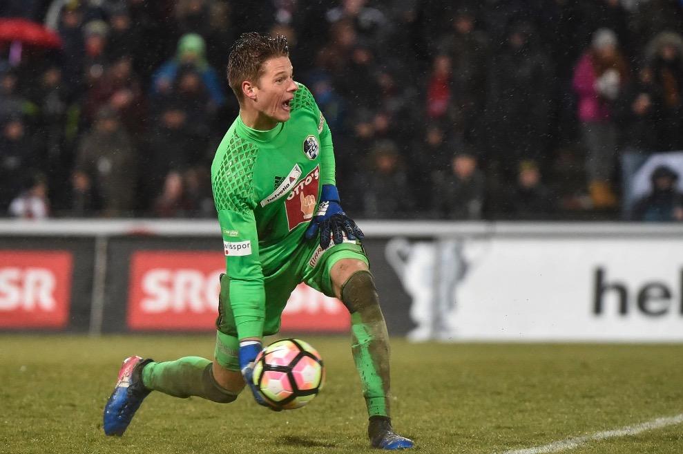 Jonas Omlin hütete bereits im Cup-Viertelfinal gegen den FC Aarau das FCL-Tor.