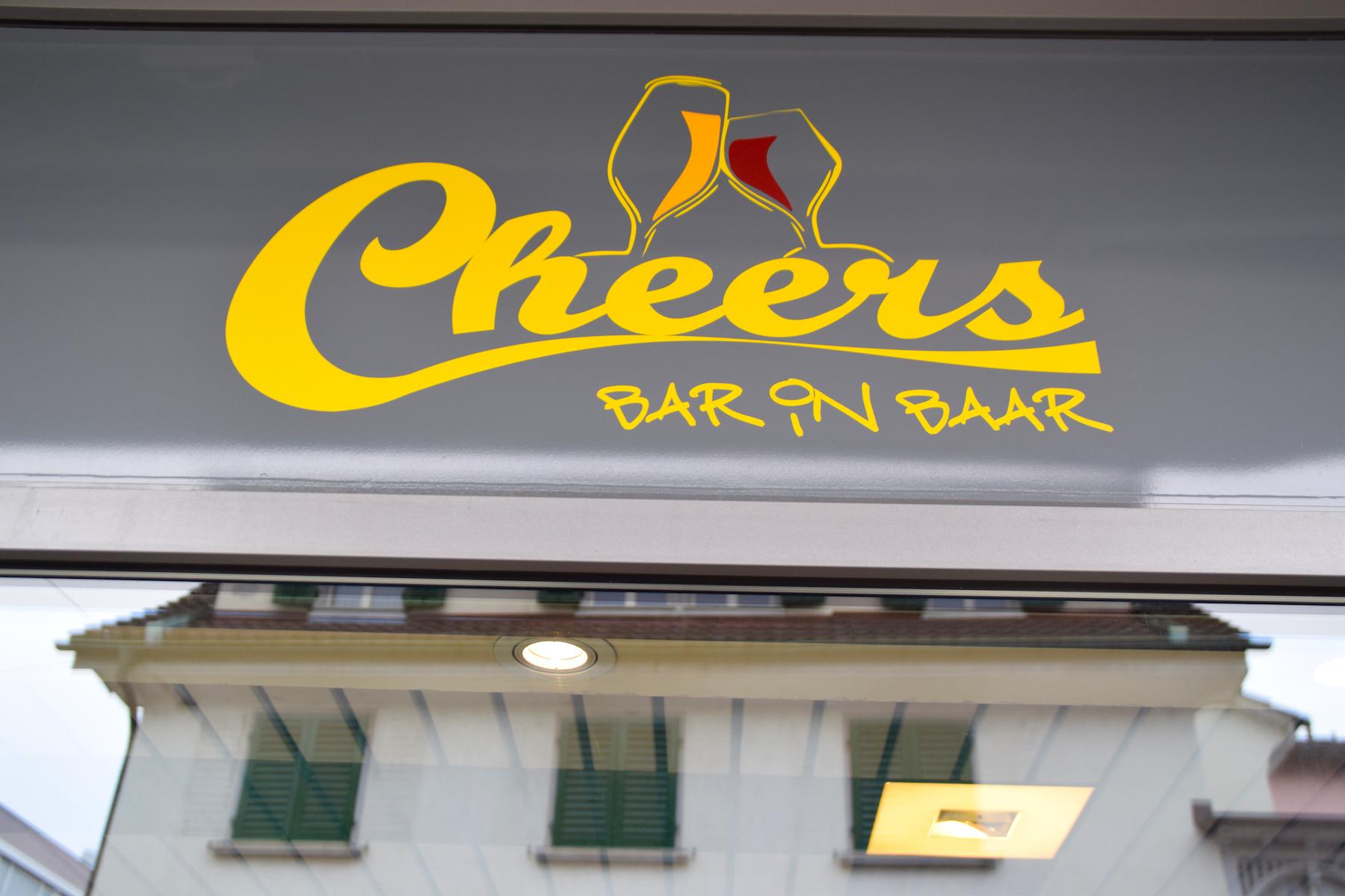 Bar in Baar: das Cheers.