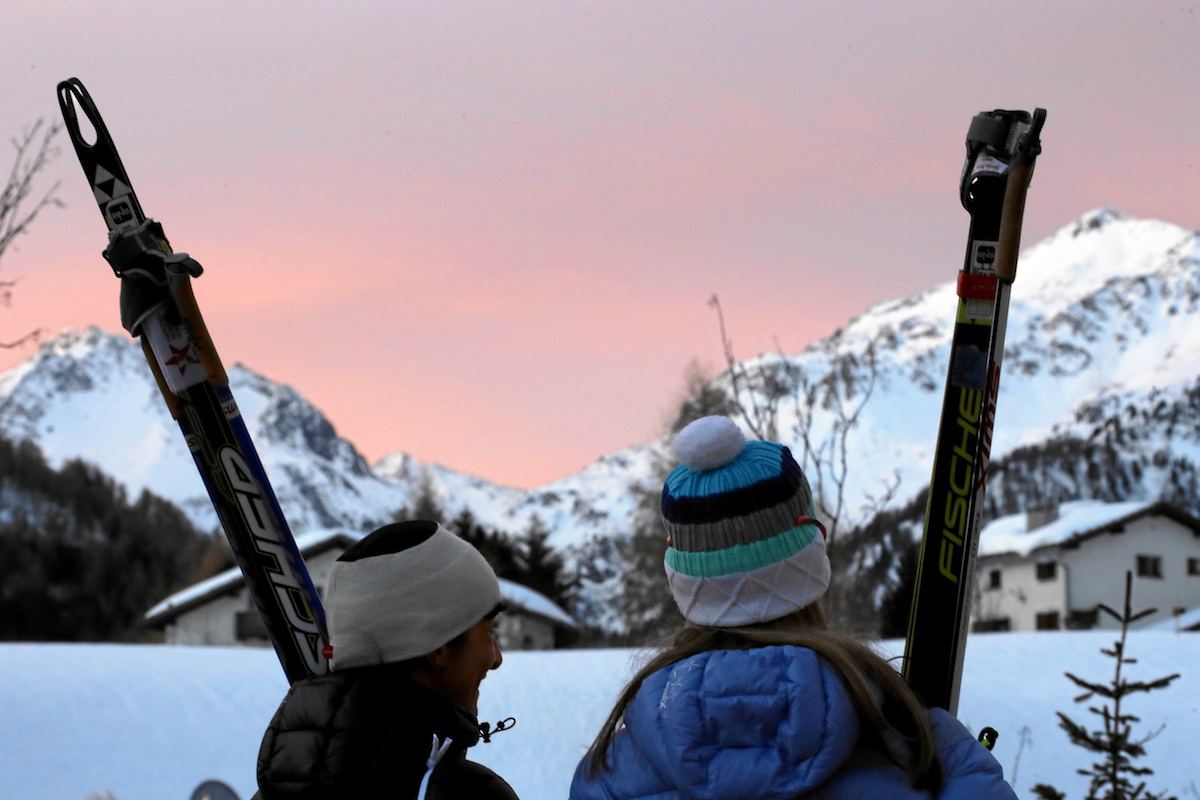 Früh muss rauf, wer am Skimarathon teilnehmen will.