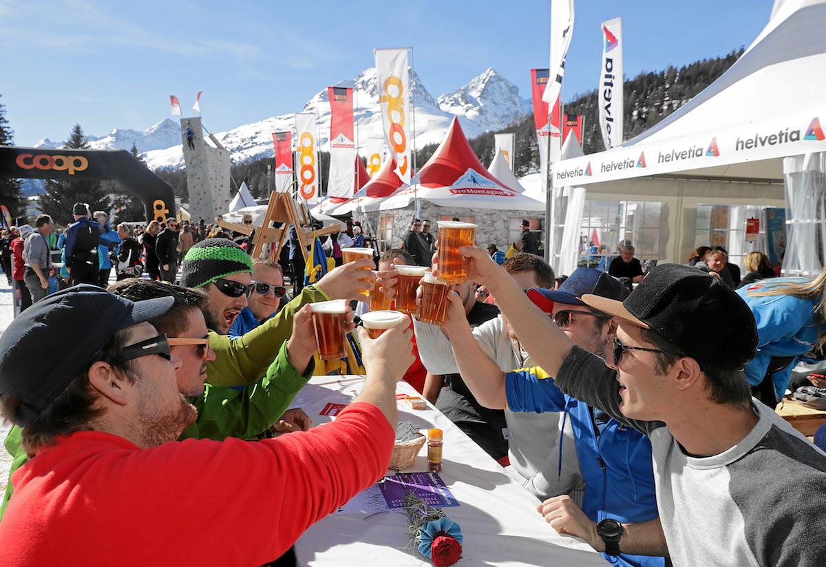 Der Skimarathon ist Sportanlass und Volksfest zugleich.
