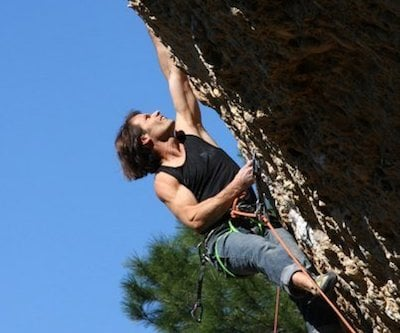 Andrea Lerch ist selber leidenschaftlicher Kletterer.