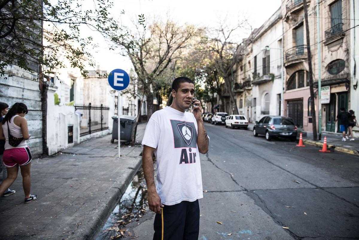 Sohn Matias, Protagonist des Films «En La Boca».