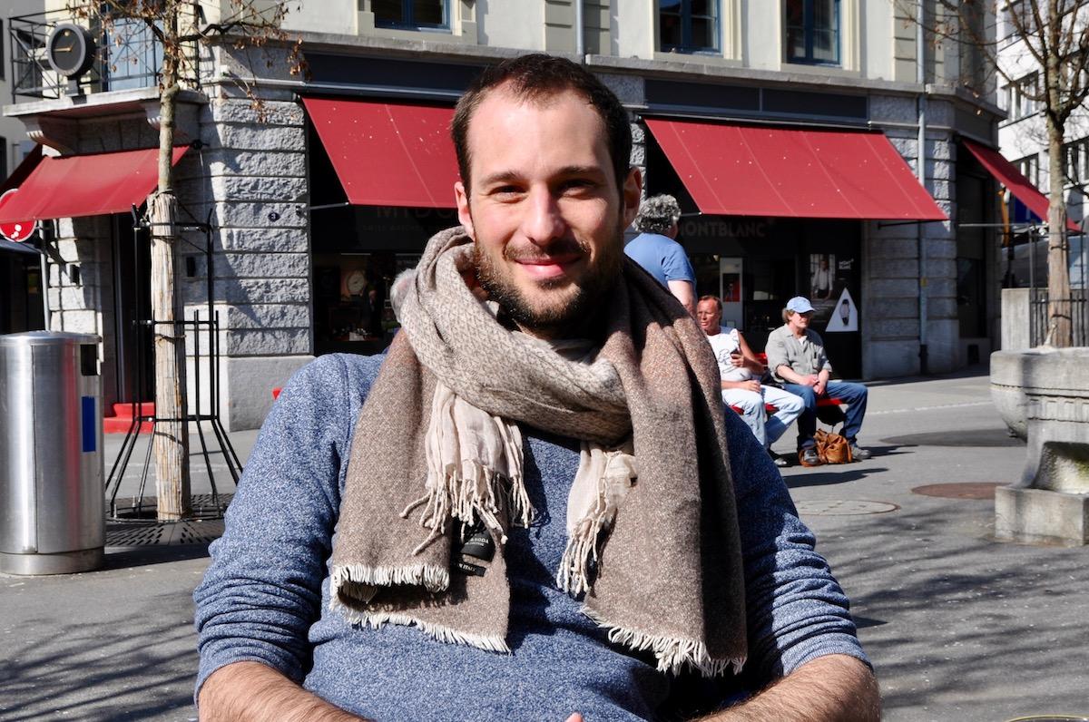 Der Luzerner Filmemacher Matteo Gariglio.