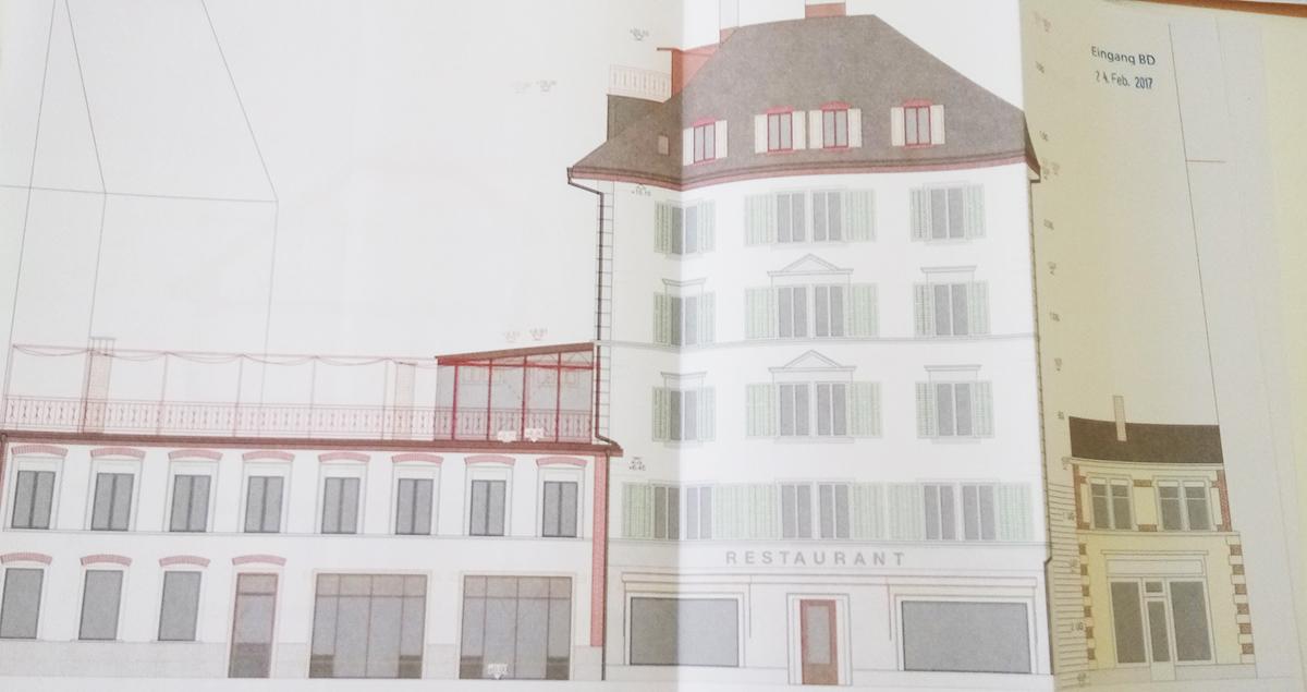 So soll das Gebäude nach dem Umbau aussehen.