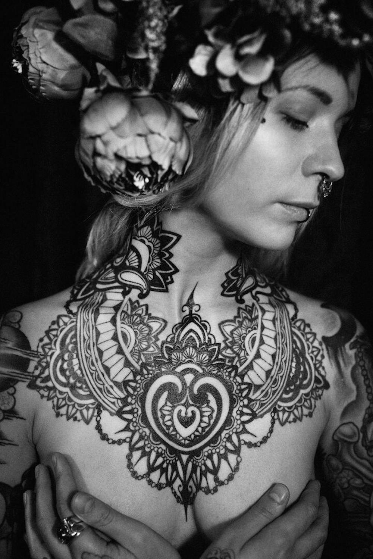 Dieses Tattoo von Nadja Koss wurde an der Tattoo Convention in Gossau mit dem 1. Preis geehrt.