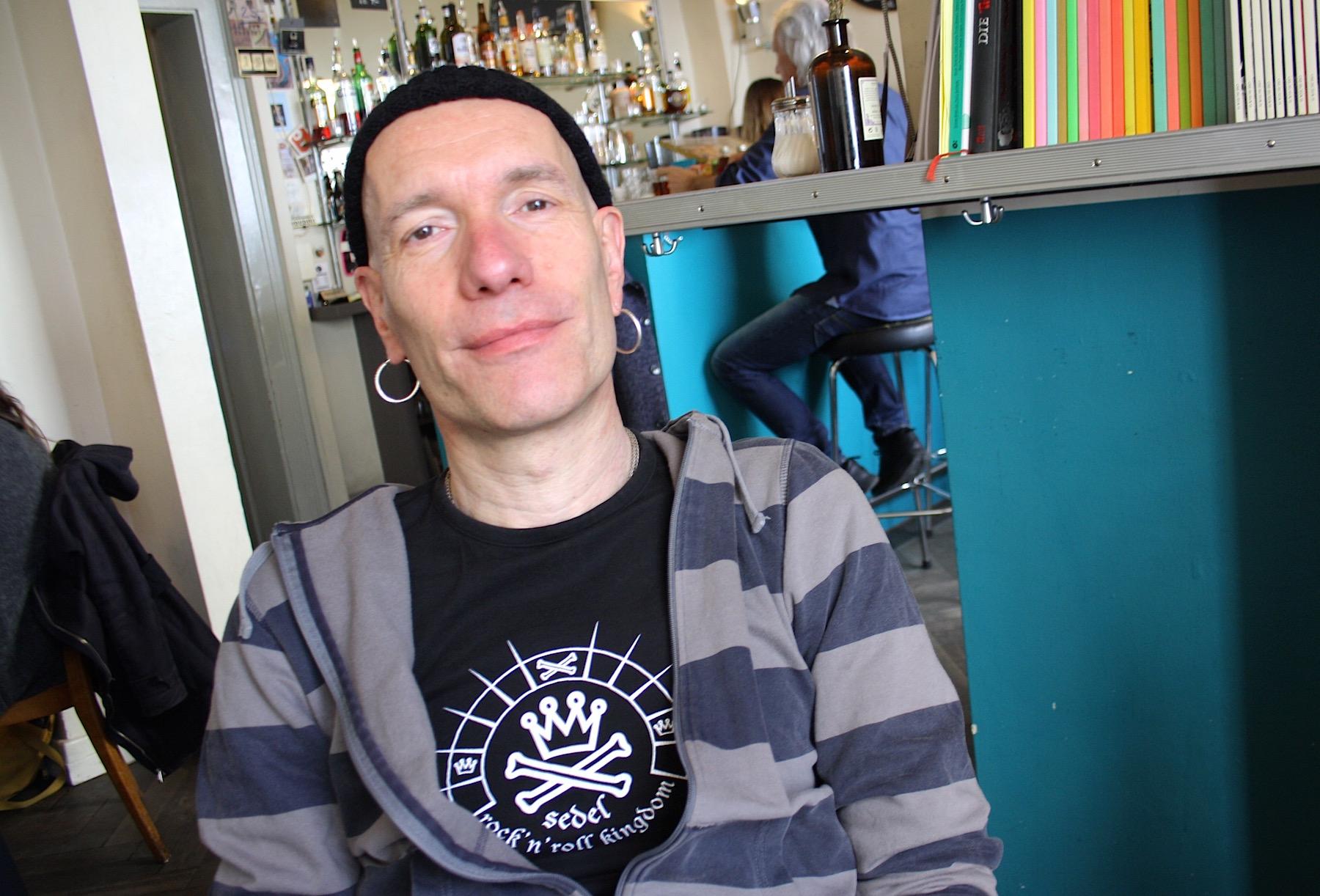 Martin Gössi ist Frontmann der Band Möped Lads und war von 1989 bis 1993 Sedel-Abwart.