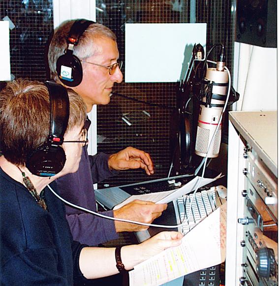 Aus dem Radiostudio SPKNottwil sendete die Arbeitsgruppe Solidar im Jahr 2002 während zwei Wochen jeden Tag zwei Stunden (Bild: zVg).