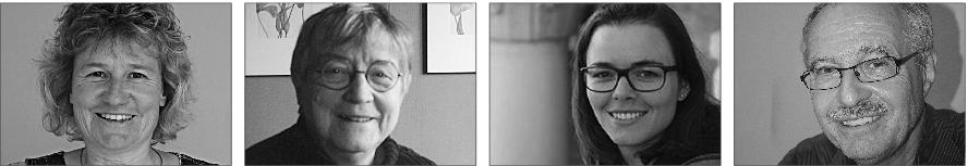 Die letzten noch aktiven Mitglieder v.l.n.r.:Ursula Sidler, Esther Bisig, Stefanie Fuchs, Hanspeter Bisig (Bild: zVg).